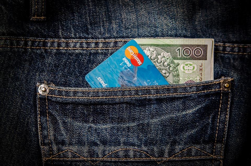 Tarjeta de crédito sin analizar el agujerotambién